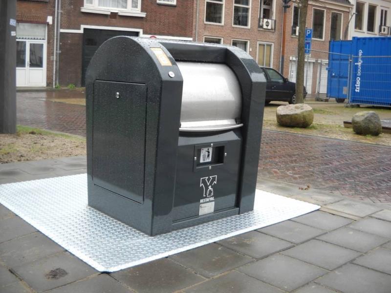 Technisch probleem met afvalpas/ondergrondse container restafval