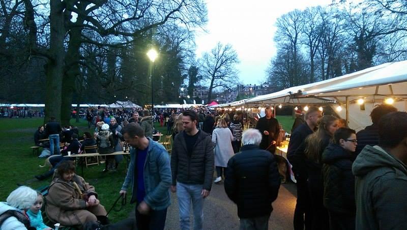 Kerstmarkt op park Sonsbeek