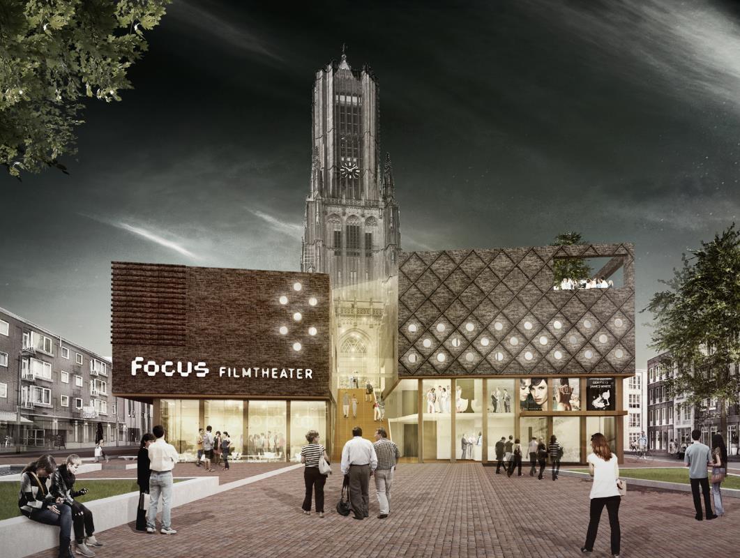 DP6 architectuurstudio mag Focus filmtheater ontwerpen