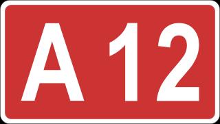 A12 weekend afgesloten