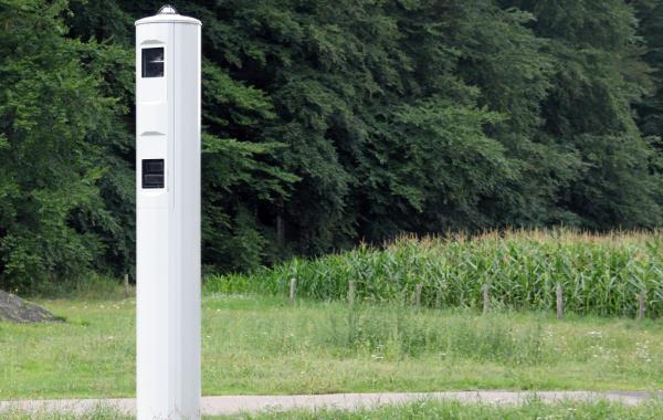Nieuwe digitale flitspaal in Arnhem