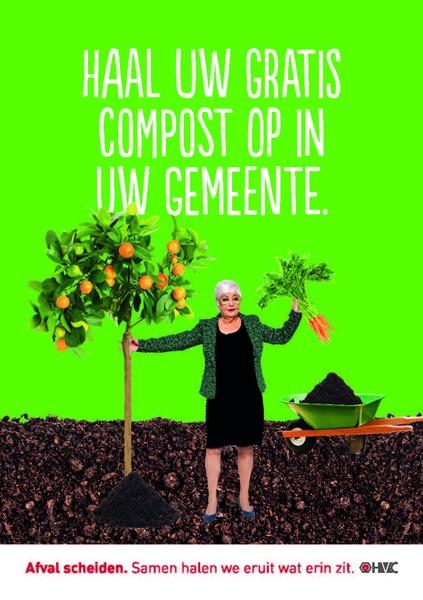 Gratis compost tijdens compostmaand