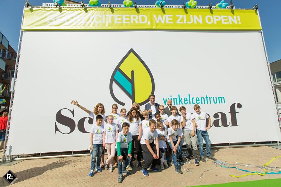 Winkelcentrum Schuytgraaf feestelijk geopend