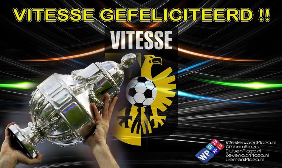 Vitesse wint KNVB-beker