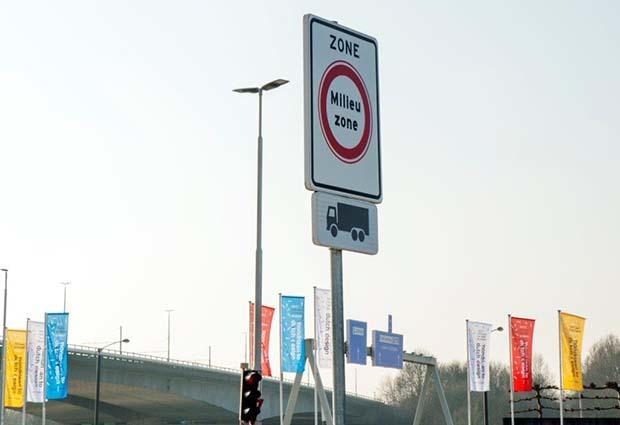 Milieuzone vanaf 15 augustus tien dagen opengesteld voor alle verkeer