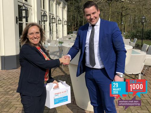 Werkgevers in Midden-Gelderland met werknemers met afstand tot arbeidsmarkt in het 'zonnetje gezet'