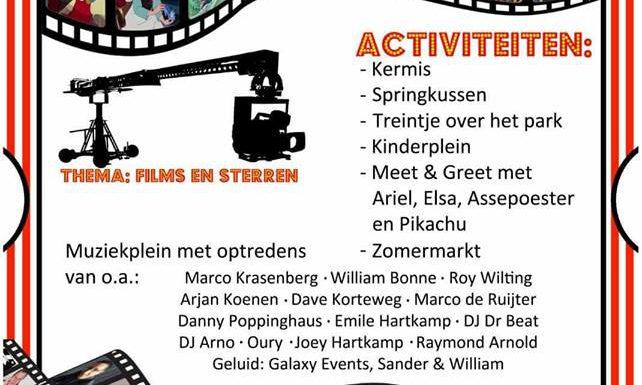 Zomerfeest met thema films en sterren bij 's Koonings Jaght