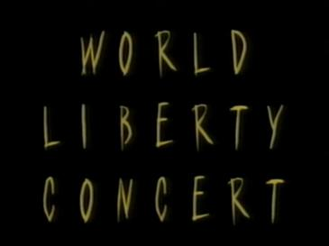 World Liberty Concert 8 mei 1995