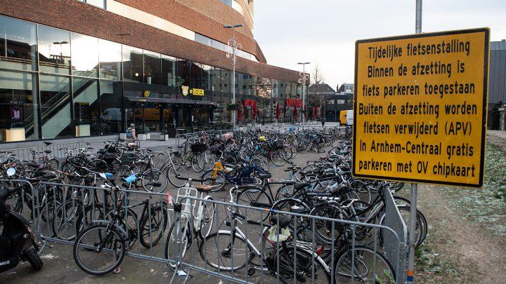 Opheffing tijdelijke fietsenstalling aan de Oude Stationsstraat