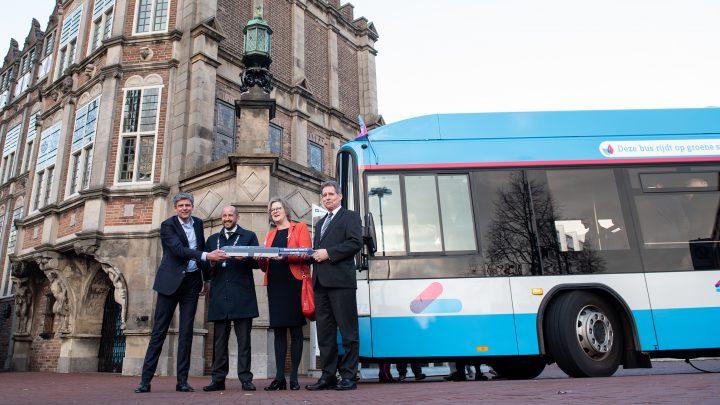 Arnhemse trolleybus rijdt nu ook zonder bovenleiding