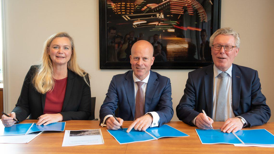 Startschot voor leefbaarder en duurzamer 'Bestuurskwartier' in Arnhem