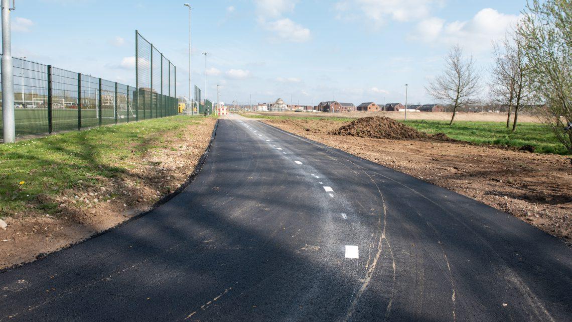 Arnhem krijgt groenste fietspad van 'grasfalt'
