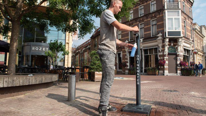 Gratis drinkwater op zeven plaatsen in centrum van Arnhem