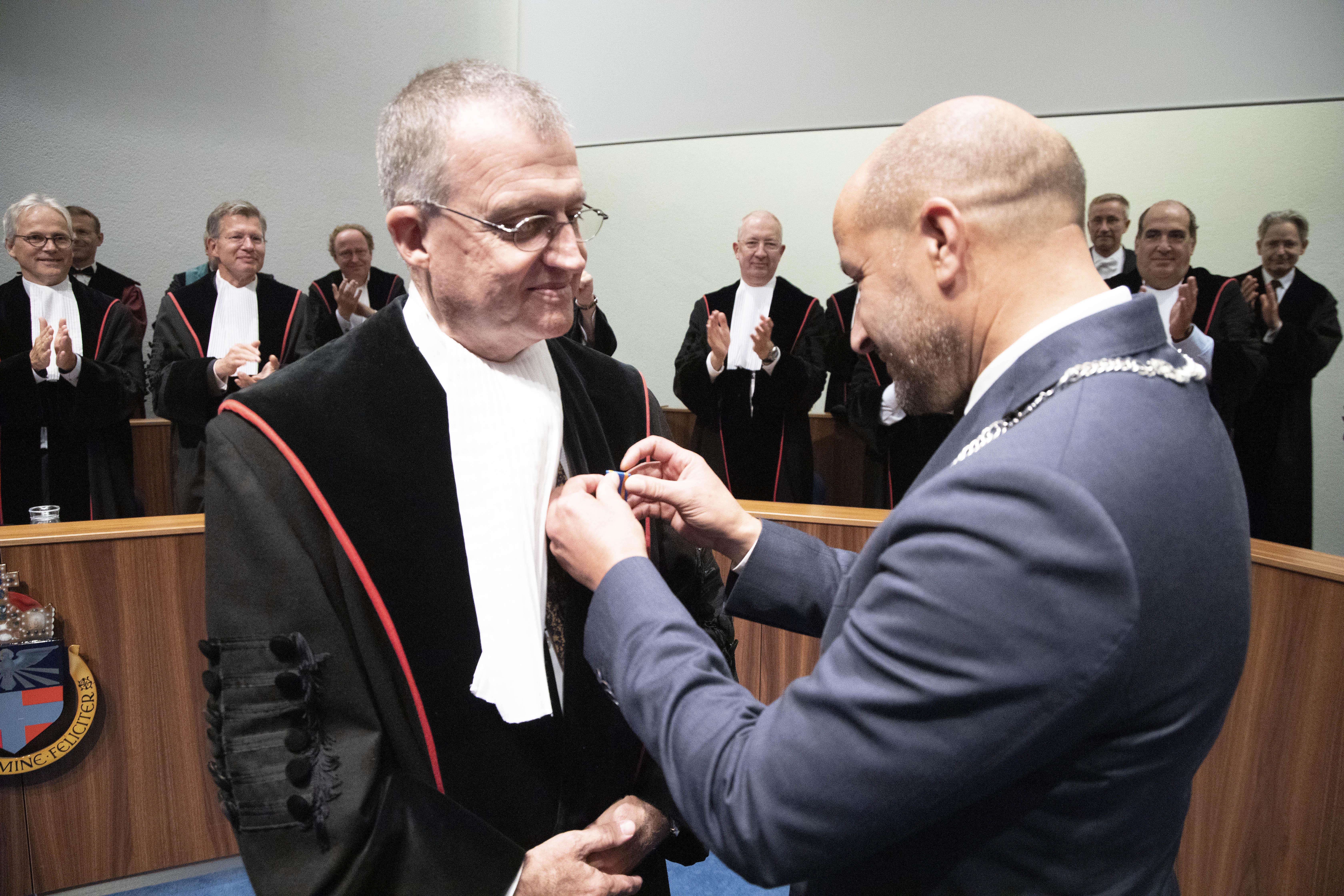Andre Grotenhuis benoemd tot Ridder in de Orde van de Nederlandse Leeuw