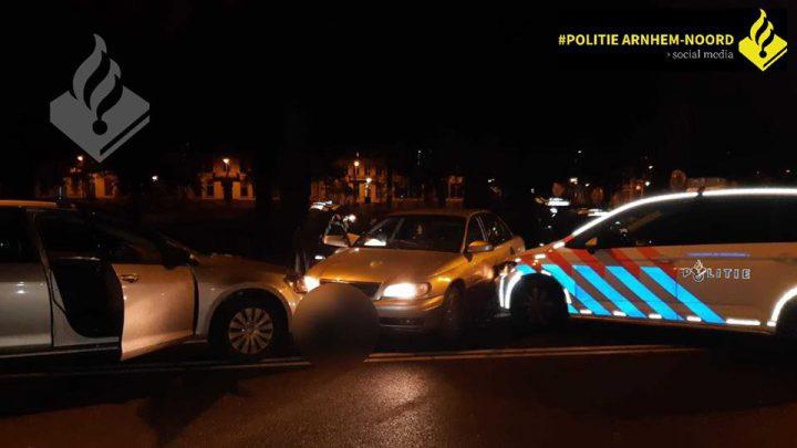 Bestuurder aangehouden na wilde achtervolging door Velp en Arnhem