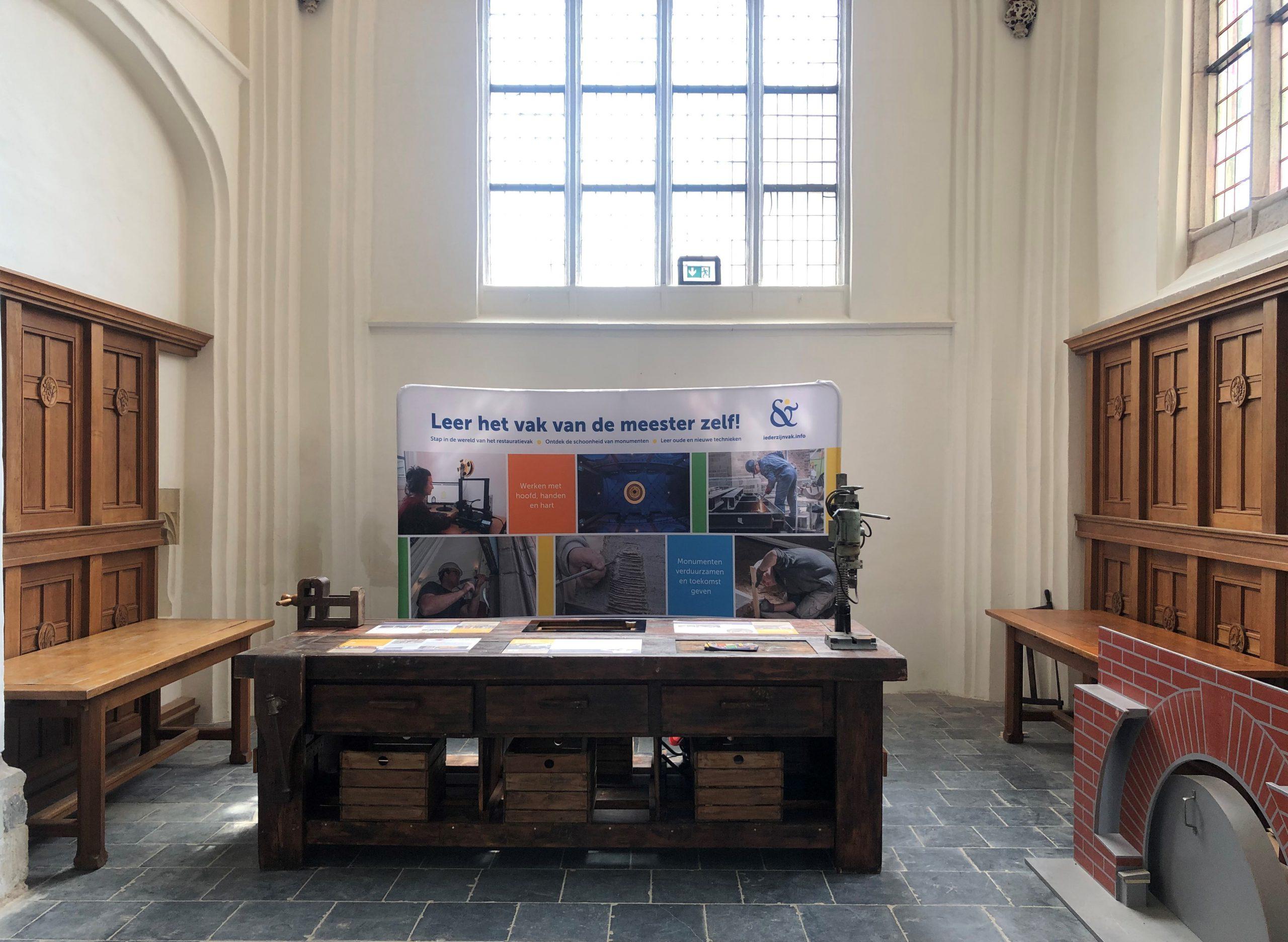 Mobiele erfgoed expositie 'Ieder Zijn Vak' naar Eusebius Arnhem