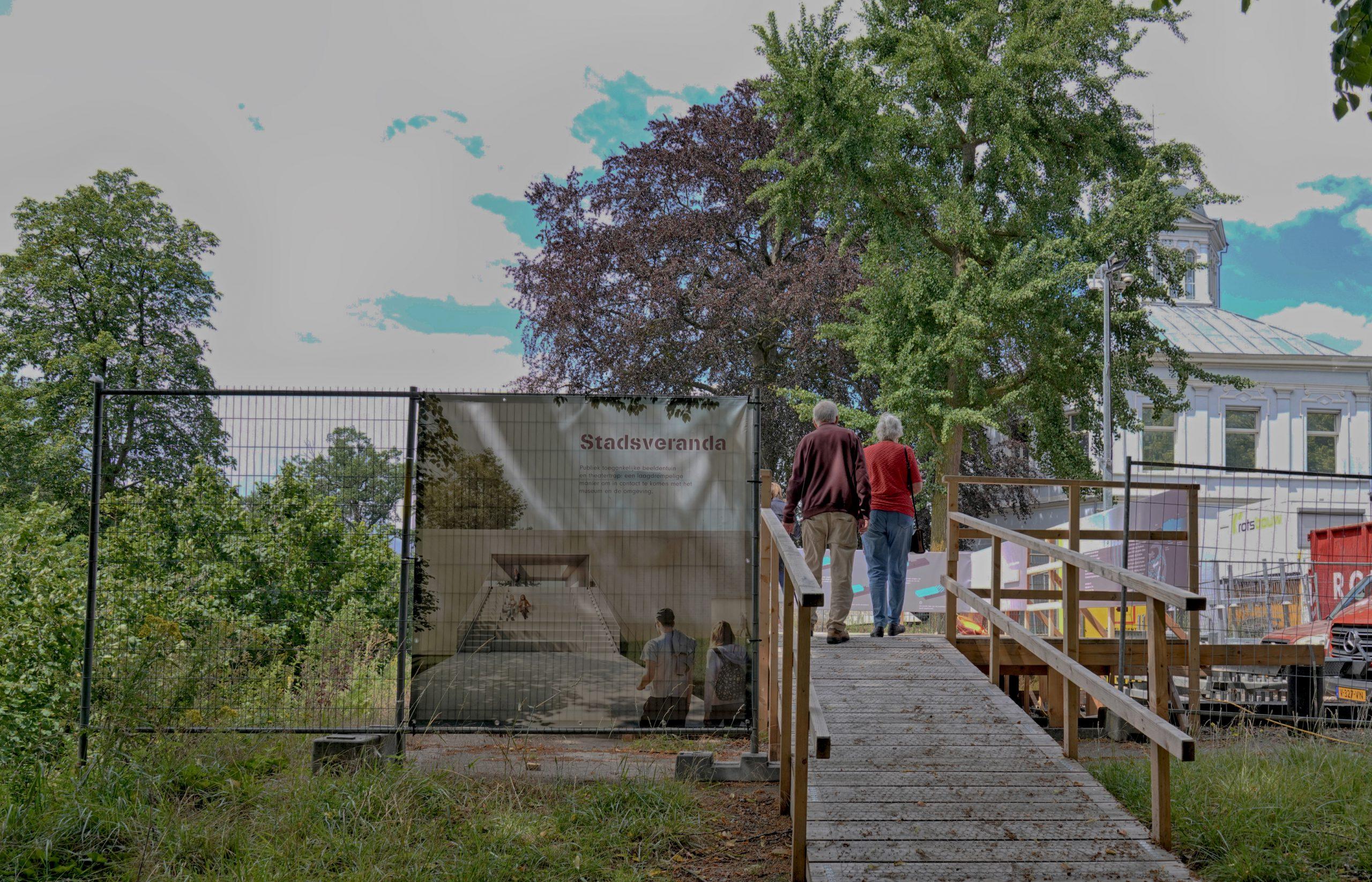Publiek welkom bij spectaculaire verbouw Museum Arnhem