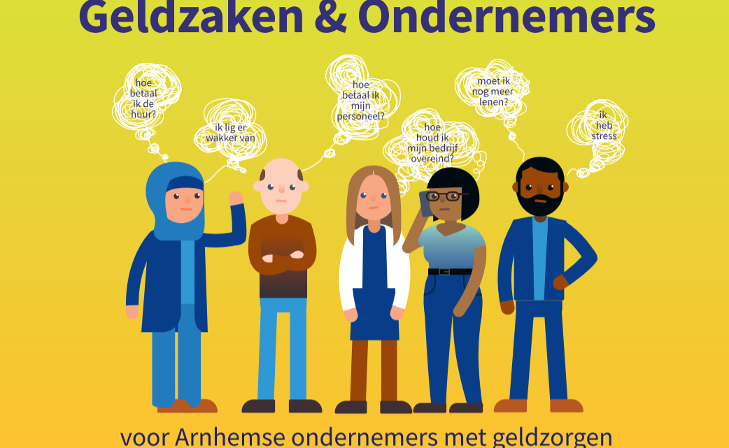 Arnhemse ondernemers met geldzorgen kunnen vanaf 8 juli aankloppen bij Geldzaken & Ondernemers