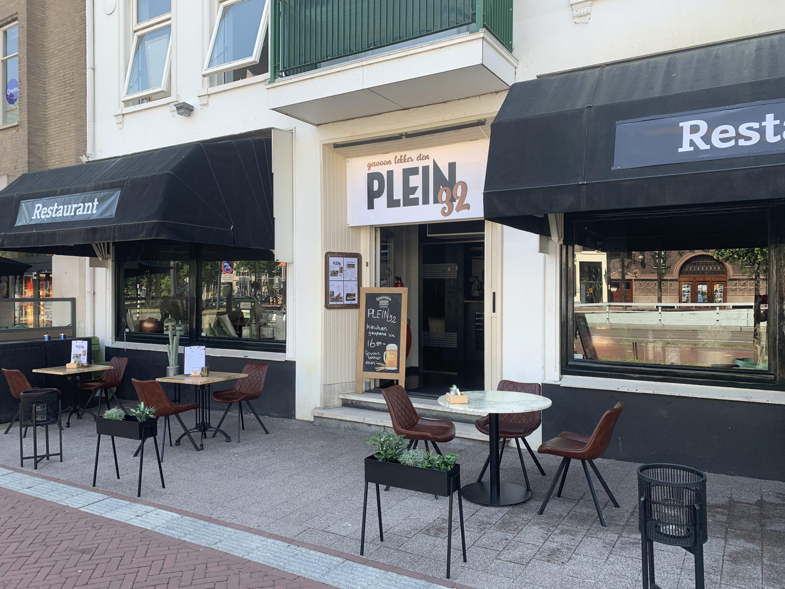 Lekker eten bij Plein 32 in Arnhem