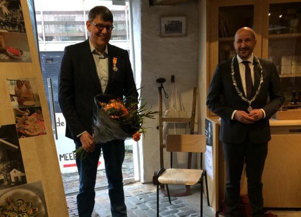 Martin Brouwer ontvangt Koninklijke Onderscheiding