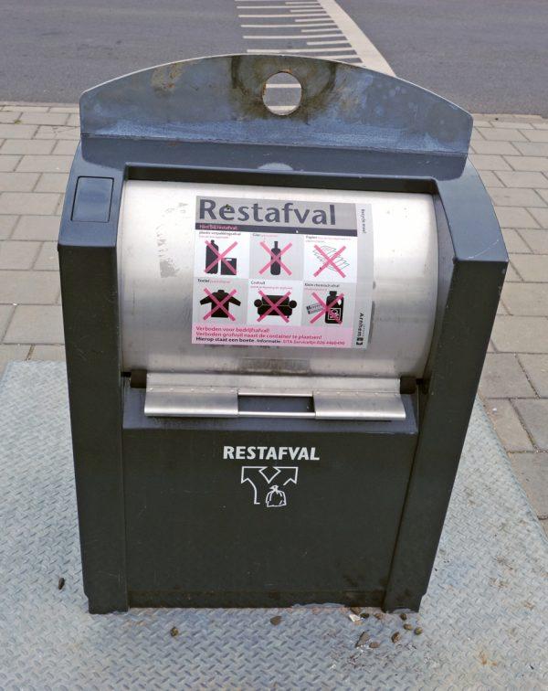 Afvalcontainers in Arnhem gaan 1 juni weer open