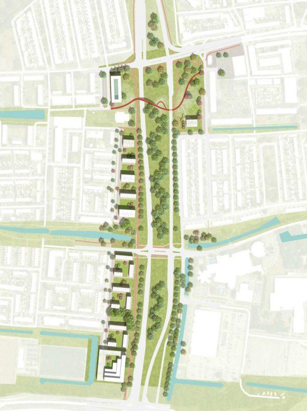 Nijmeegseweg wordt groene stadsallee en er komen 230 woningen bij in eerste fase