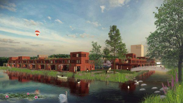 Bijna 200 woningen op oud sportpark Malburgen-West, mix van sociale huur, middenhuur en koop