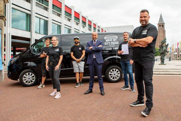 Betaald werk voor jongeren Arnhem-Oost door partnerschap gemeente met bedrijven