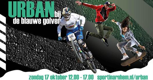 """Nieuw evenement in Arnhem """"Urban bij de blauwe golven"""""""
